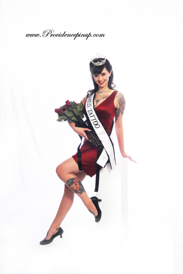 "Michelle ""Bombshell"" McGee was the original Miss Tattoo USA and she's"