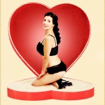 Valentines at Vintage Girl Studios. Boston/Providence Pin-up Photographer