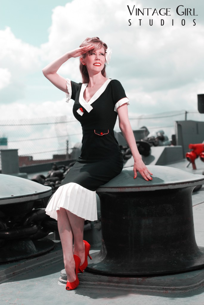 Uss Salem Pin-up