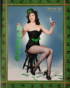 St. Patrick's Pin-up